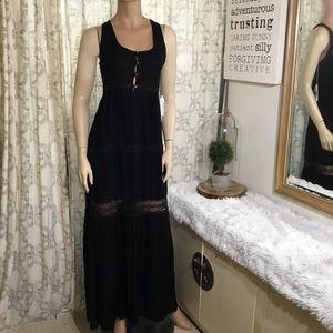 O'Neill Maxi black dress (F1🌺